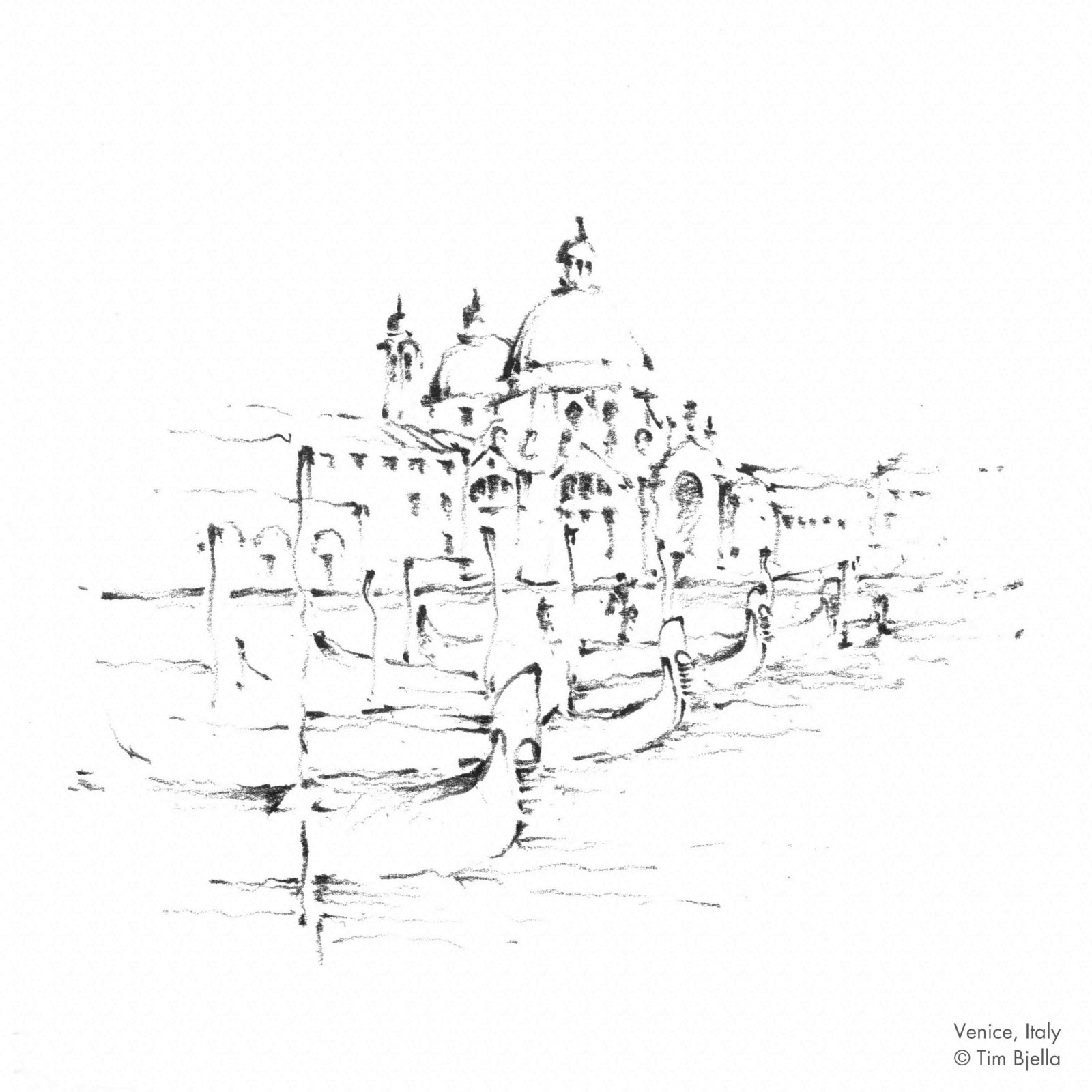 Sketch Break – Venice, Italy