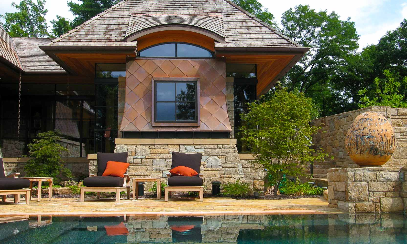 Arteriors Architects Missouri Modern Zen Home